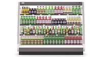Refrigerator With Beer Bottles