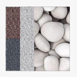 3D model Gravel smooth small n2