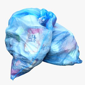 garbage bag 3D model