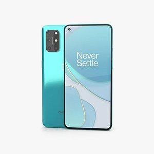 3D OnePlus 8T Aquamarine Green