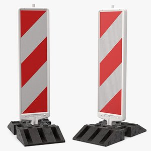 3D beacon roadworks type 2