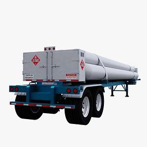 3D tube trailer