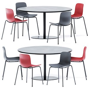 3D Stan Dining Table by Viccarbe