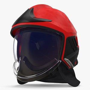 helmet red 3D model