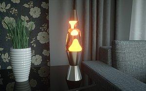 3D lava lamp