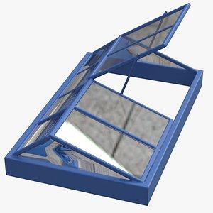 3D skylight light sky model