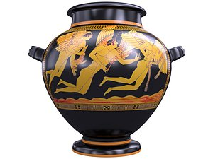 antique greek jar model
