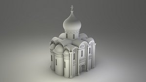church russian 3D