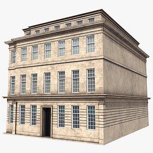 3D building apartment newcastle model