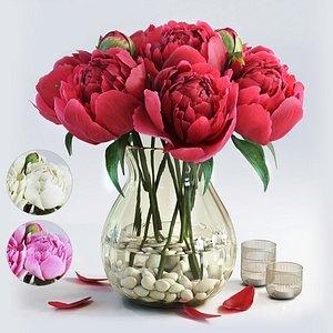 flower set 4 3D