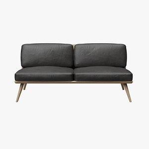 lounge suite sofa 3D