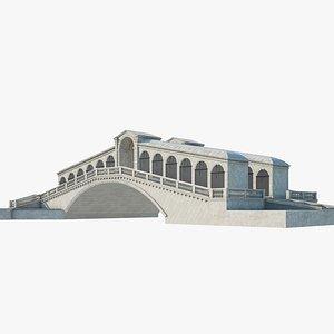 rialto bridge model