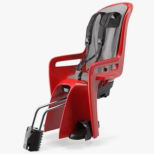 child bike safety seat 3D model