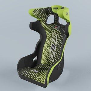 3D OMP HTE ART Green Seat