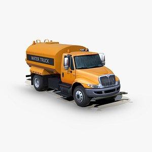 international durastar 4300 water 3D model