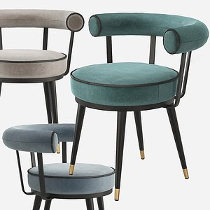 vico dining chair 3D model