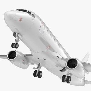 SSJ100 Aircraft 3D