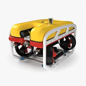 3D model underwater vehicle rov