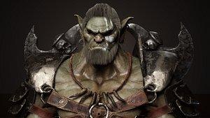 3D Goblin Champion