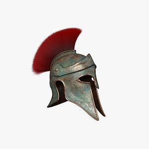 3D Greek Helmet V1