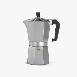 3D pot coffee