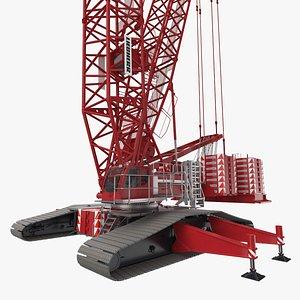 3D model liebherr lr 1600 2