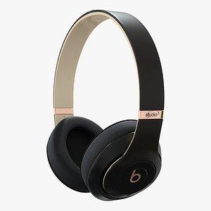 beats headphones studio 3D model