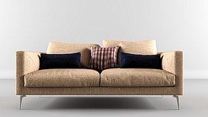 3D model sofa seating furniture