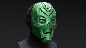 3D Skyrim Dragon Priest Mask - Rahgot