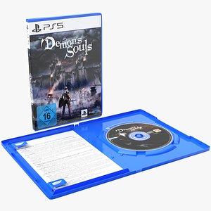 DVD PlayStation 5 Demon's Souls 3D