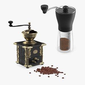 coffee mills 3D model