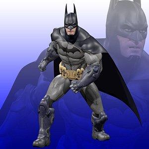 Batman Rigged 3D model