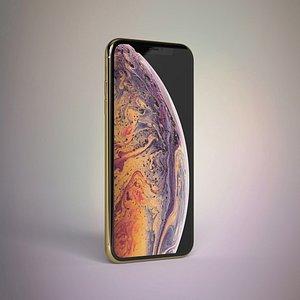 3D model iphone xs