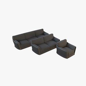 sofa v39 3D model