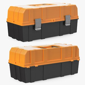 3D model Three Layer Folding Plastic Toolbox
