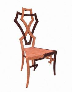 Emilio Terry Chair 3D model