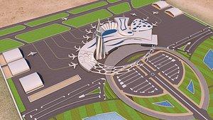 port project 01 - 3D model