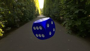 3D model dice x