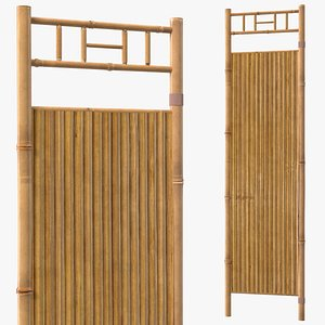 3D wall panel bamboo