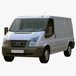 3D van transit car model
