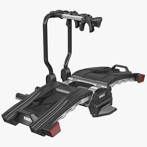 3D model Thule EasyFold XT2 Bike Racks Rigged