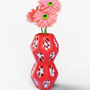 hexa-penta flower vase 3D model