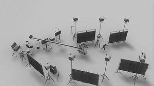 3D movie shooting spot model