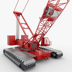 3D model crawler crane 200