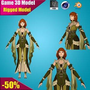 warrior war 3D model
