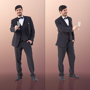 man business champaign 3D model