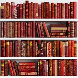 3D Classic Books 23 model