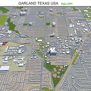 Garland Texas USA model