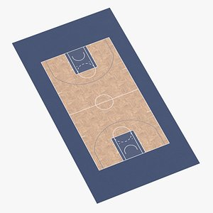 3D model Basketball Surface 05