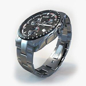3D hyperchrome watch
